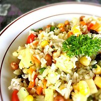 Puri Sawah Special Salad LARGE PORTION (suitable for vegetarians)
