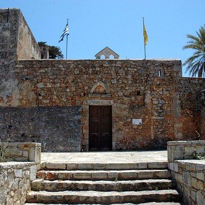Κεντρική είσοδος της Ι.Μονής