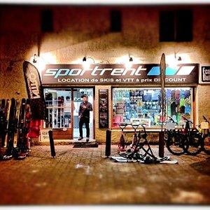 location de skis et VTT