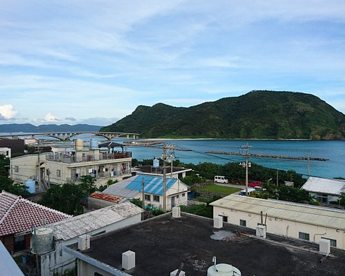 View from the roof of the hotel
