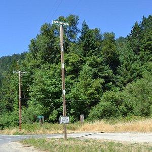 High Water Mark pole