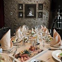 """Свадебный семейный ужин в нашем ресторане """"Дягилев"""""""
