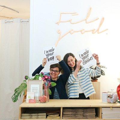 Fil Good è un laboratorio artigiano dove prendono vita abiti in fibre naturali e borse in pelle
