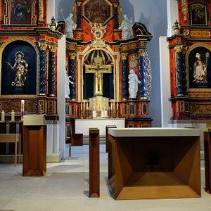 Wallfahrtskirche auf dem Volkersberg