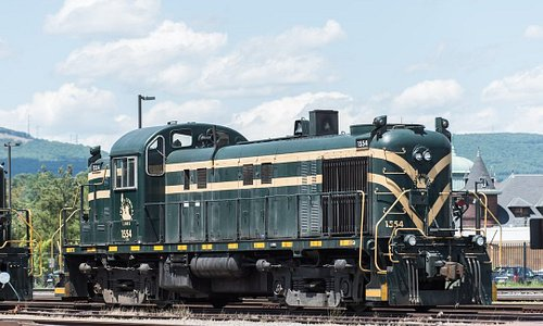 Not Steamtown's, but a historically significant operating Alco RS3 on the property.