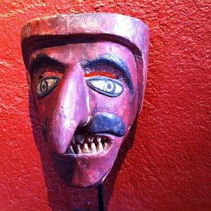 Moor Mask-Dance of the Moors and Christians-Veracruz