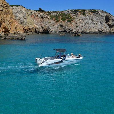 Aguas turquesas de Menorca