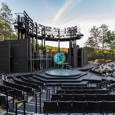 A Midsummer Night's Dream set in the 1089-seat Hill Theatre