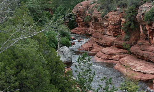 Scenery at Slide Rock