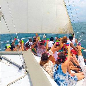 Private Catamaran & Playa Fantasia