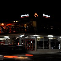 'The Heit' at night...