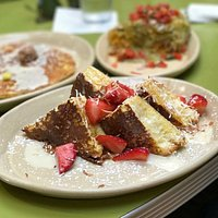 The OMG French Toast is drool-worthy