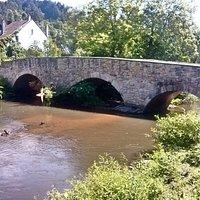 Lauterecken, alte Brücke über die Lauter