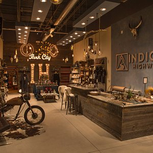 Indigo Highway is full of artisanal apparel, gifts, apothecary and bar.