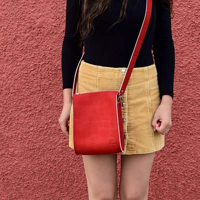 All of our bags are handmade by local bag makers in our workshop in Granada.