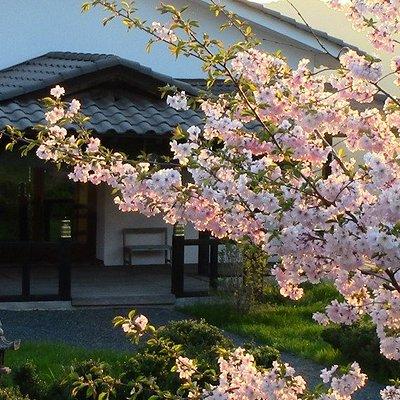 L'entrata della sala di meditazione Zazen