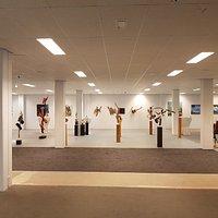 Collectie kunst in de galerie