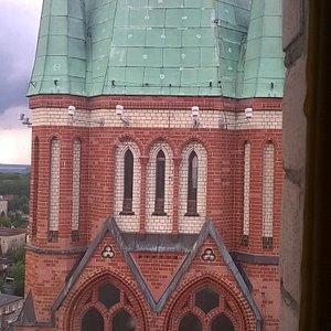 Widok na drugą wieżę