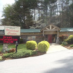 Stop by Cherokee County's Official Welcome Center, we would love to share the best of our area!