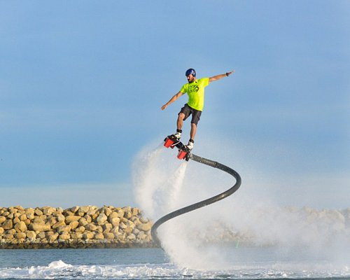 learn to flyboard in Cabo with a local waterman