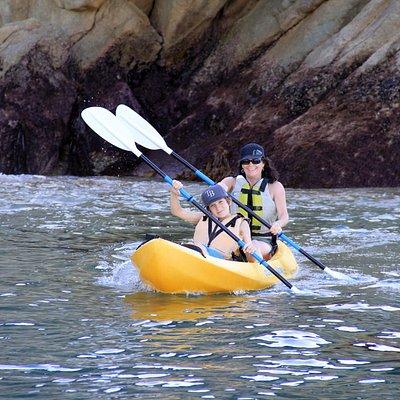 Kayaking near Seal Rocks