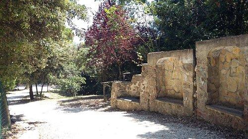 il parco con opere idrauliche storiche