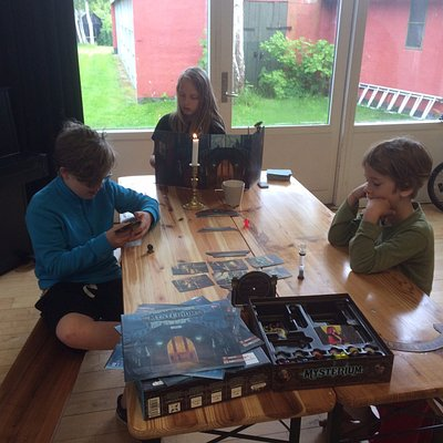 Prøv nye sjove brætspil fra vores brætspilsbibliotek.