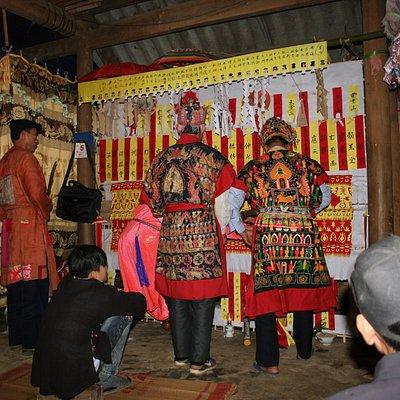 the ordination/initiation of the Yao Tuyen-Black Yao in Lao Cai