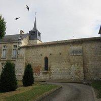 la chapelle côté intérieur de l'hopital
