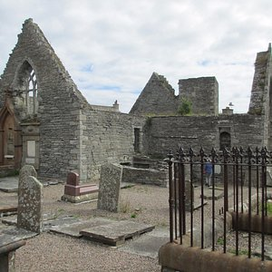 Some of the gravestones