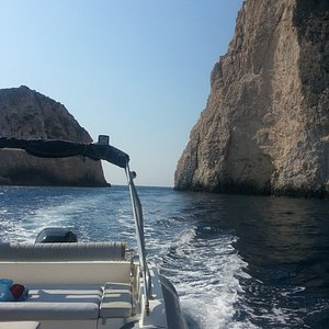 Our company offers daily cruises in Ionian sea with our rib boats