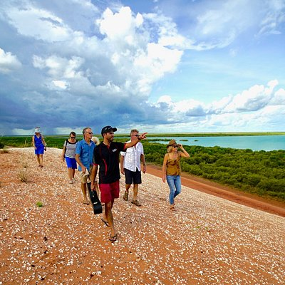 Overlooking Roebuck Bay is one of the highlights of the Beach to Bay Tour!