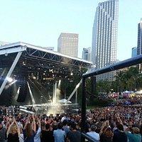 The Cure concert at Bayfront Park Amphitheatre, Miami, FL. June 27, 2016