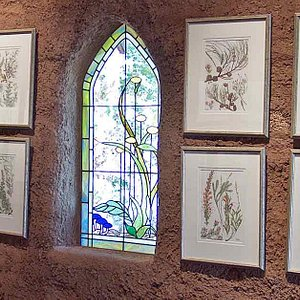 Watercolours in the Chapel of the Flowers