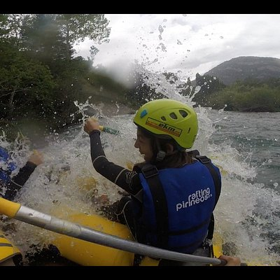 emoción, hicimos Rafting y Cano Raft