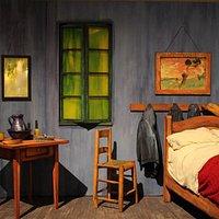 Riproduzione camera Van Gogh