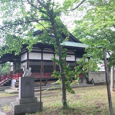 神社の外観