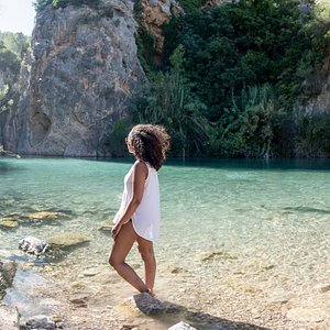 Breathtaking blue lagoon hot springs. #HotSpringsTour #Relax #Valencia