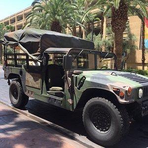 Pick up Hummer