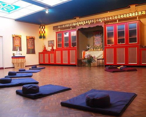 The meditation room.