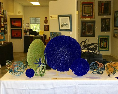 The Flagler County Art Lesgue Summer Sale in the main Gallery