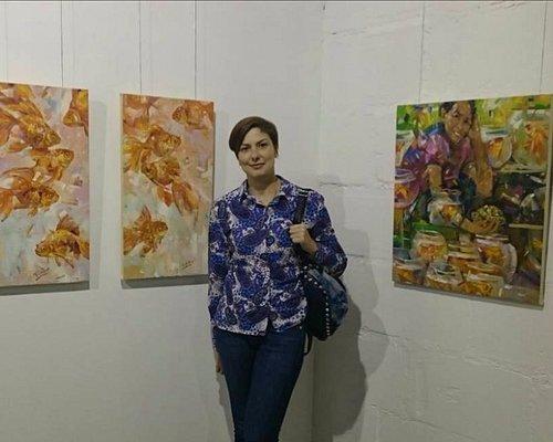 Выставка молодого и талантливого художника из Екатеринбурга Кирилла Бородина  в галерее Антонов