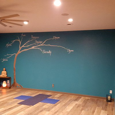 Studio where you can stretch, strengthen, relax and turn within