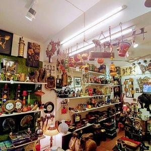 Interiors of Shop