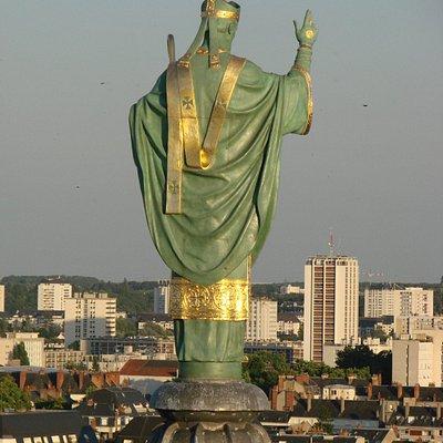 vue sur Saint-Martin, au sommet de la basilique
