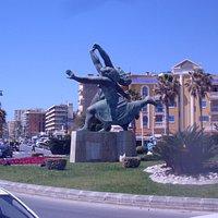 roundabout Plaza del Lido