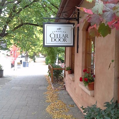 Cellar Door and Wine Bar in the main Street of Hahndorf