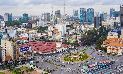 Ben Thanh Market Before Construction