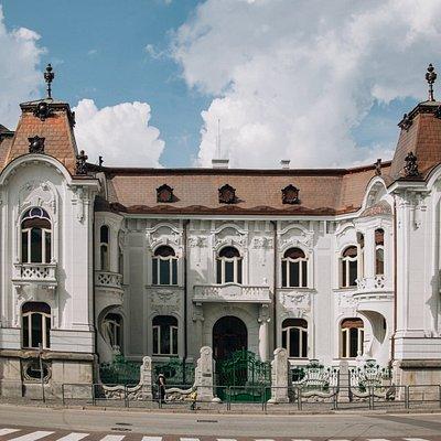 Rosenfeldov Palác v Žiline- exteriér