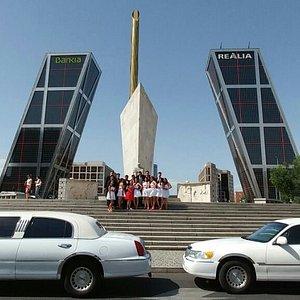 Limusinas Lincoln Town Car en Madrid para todo tipo de eventos